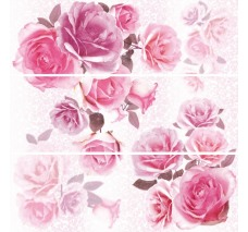 Декор (25x75) DECOR COMPOSICION BERGEN ROSES-3 (набор 3 шт.)
